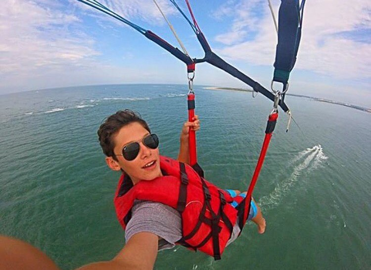 Beaufort Inlet Watersports :: Coastal Parasailing Tours :: Eastern NC