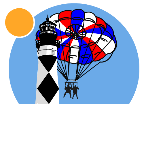 Beaufort Inlet Watersports :: Coastal Parasailing Tours :: Crystal Coast NC